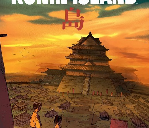 Ronin Island #4 cover by Giannis Milogiannis and Msassyk