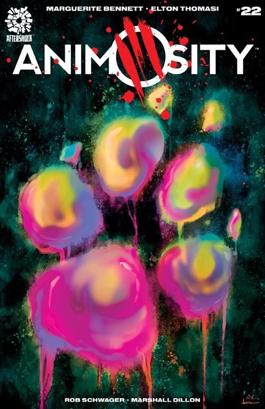 Animosity #22 cover by Rafael de Latorre and Marcelo Maiolo