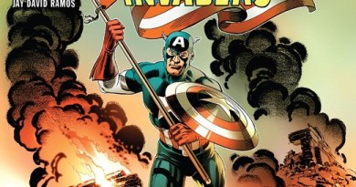 Captain America and the Invaders #1 cover by Jerry Ordway and Frank D'Armata