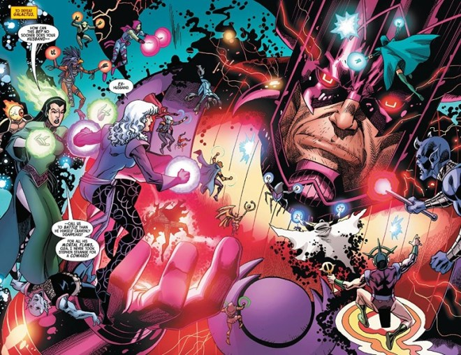 Everything Against Galactus In Doctor Strange #16 – COMICON