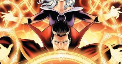 Doctor Strange #16 cover by Jesus Saiz
