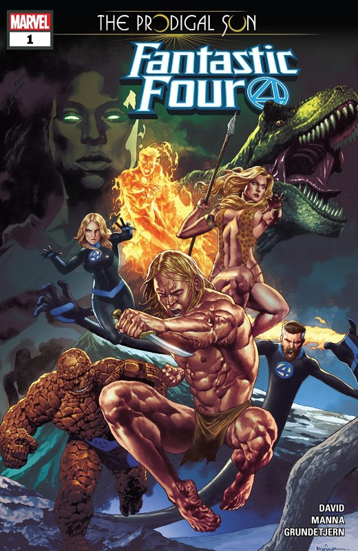 Fantastic Four: The Prodigal Sun #1 cover by Mico Suayan and Rain Beredo