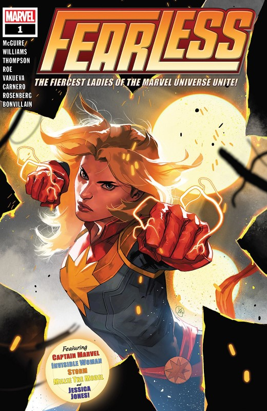 Fearless #1 cover by Yasmine Putri