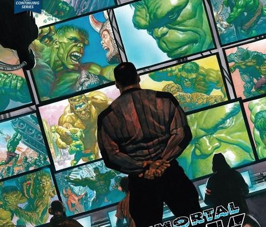 Immortal Hulk #21 cover by Alex Ross