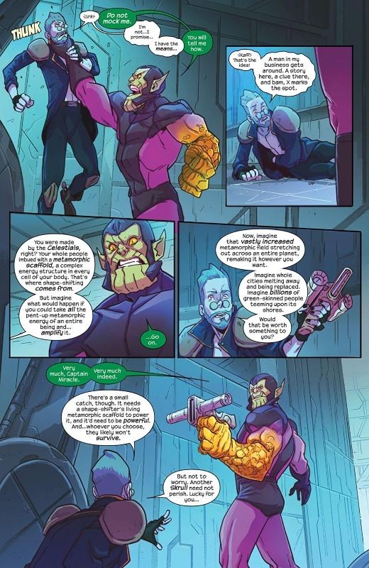 The Magnificent Ms. Marvel #1 art by Jon Lam, Msassyk, and letterer VC's Joe Caramagna