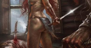 Red Sonja: Birth of the She-Devil #2 cover by Lucio Parrillo