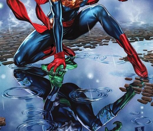 Captain Marvel #9 cover by Mark Brooks