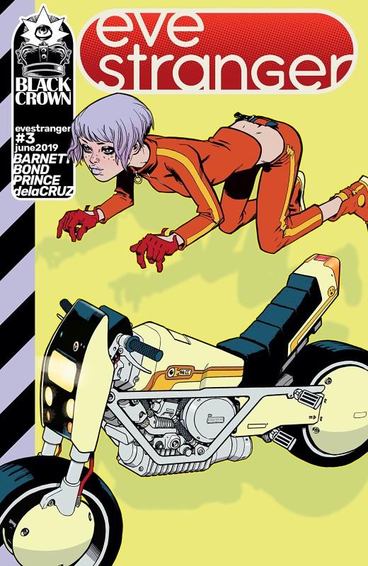 Eve Stranger #3 cover by Philip Bond