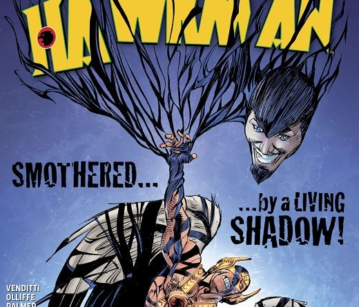 Hawkman #15 cover by Pat Olliffe, Tom Palmer, and Jeremiah Skipper