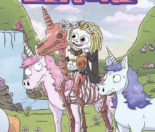 Lenore Vol. 4 #1 cover by Sarah Graley