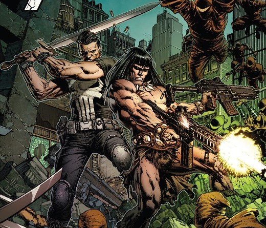 Savage Avengers #4 cover by David Finch and Frank D'Armata