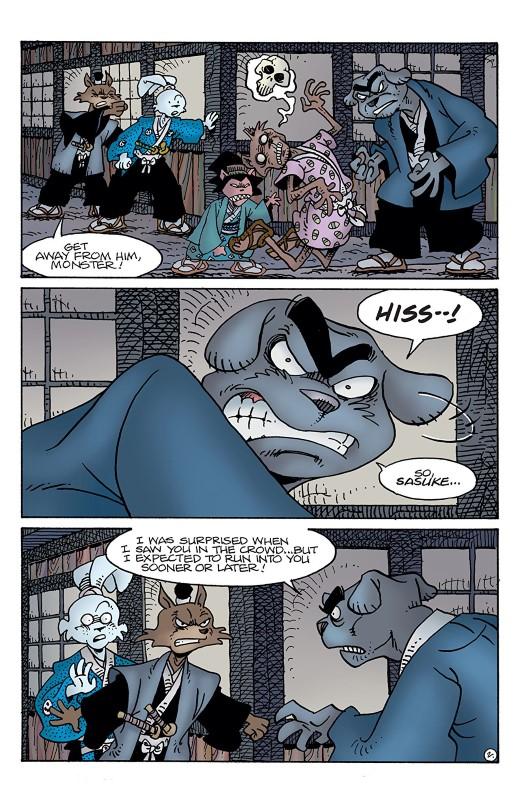 Usagi Yojimbo #3 art by Stan Sakai and Tom Luth