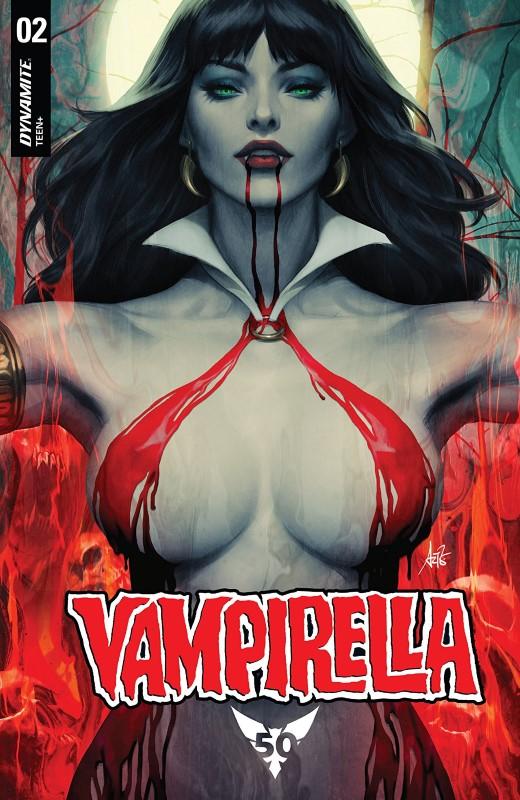 Vampirella #2 cover by Artgerm