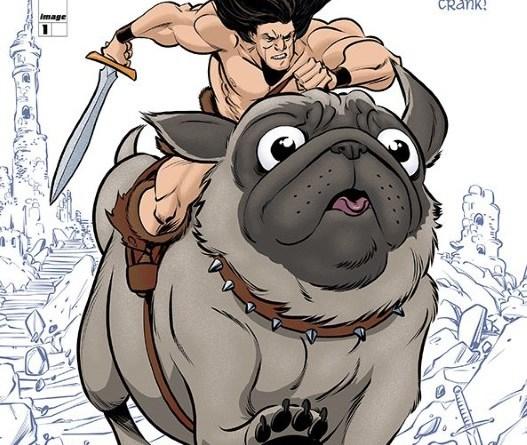 Battlepug #1 cover by Allen Passalaqua