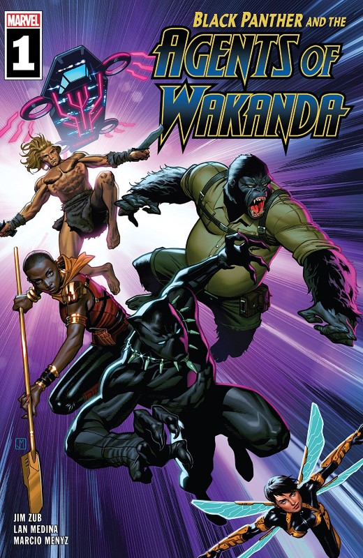 Black Panther and the Agents of Wakanda #1 cover by Jorge Molina