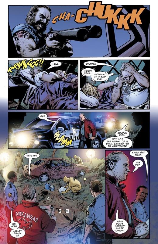 Deathstroke #47 art by Fernando Pasarin, Carlo Pagulayan, Jason Paz, Cam Smith, Wade von Grawbadger, Jeromy Cox, and letterer Willie Schubert