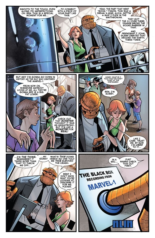 Fantastic Four #14 art by Paco Medina, Jesus Aburtov, and letterer VC's Joe Caramagna