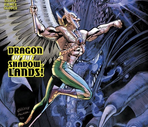 Hawkman #16 cover by Pat Olliffe, Tom Palmer, and Jeremiah Skipper
