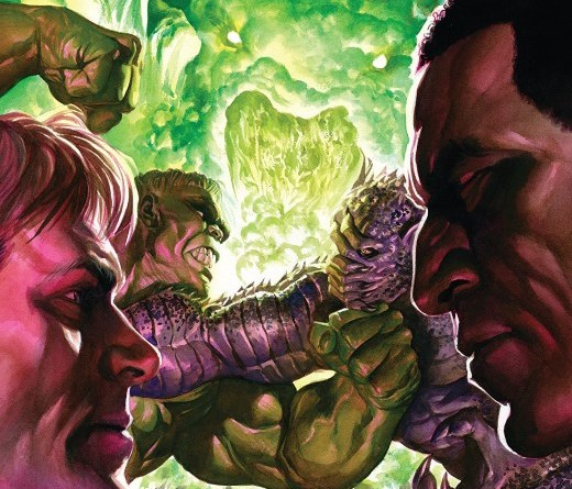 Immortal Hulk #23 cover by Alex Ross