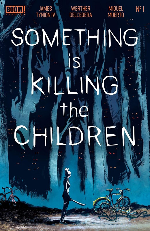Something is Killing the Children #1 cover by Werther Dell'edera and Giovanna Niro