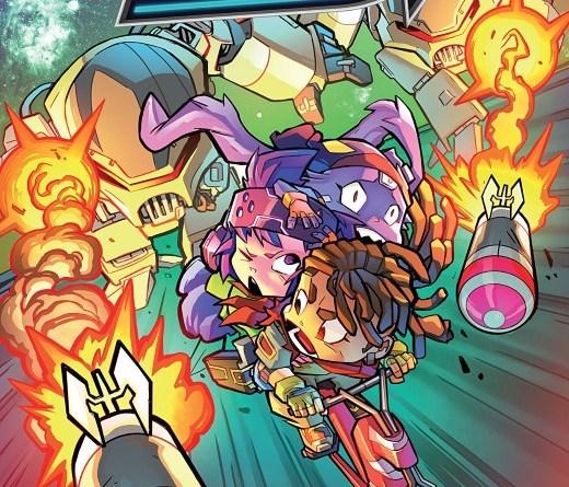 Starcadia Quest #1 cover by Aurelio Mazzaro and David Garcia Cruz