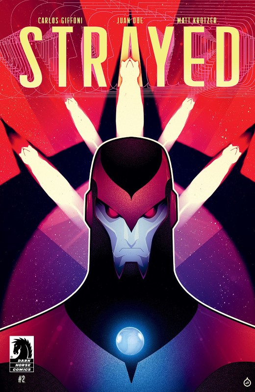 Strayed #2 cover by Juan Doe