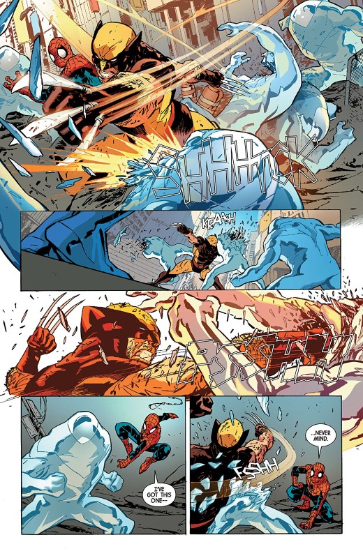 Wolverine Annual #1 art by Geraldo Borges, Marcio Menyz, and letterer VC's Cory Petit