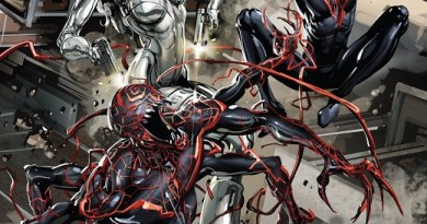 Absolute Carnage: Miles Morales #3 cover by Clayton Crain
