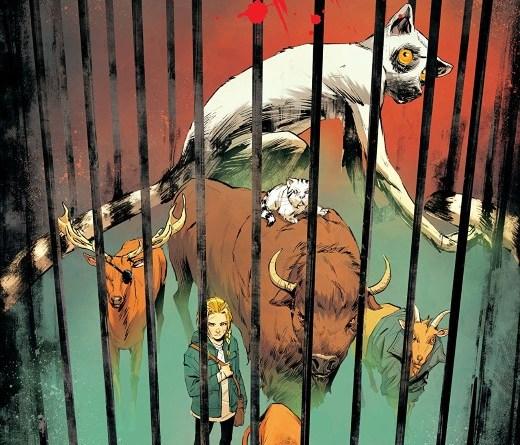Animosity #24 cover by Rafael de Latorre and Marcelo Maiolo