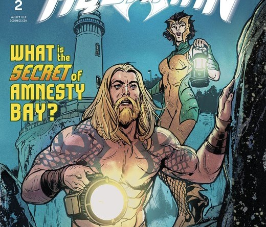 Aquaman Annual #2 cover by Victor Ibanez