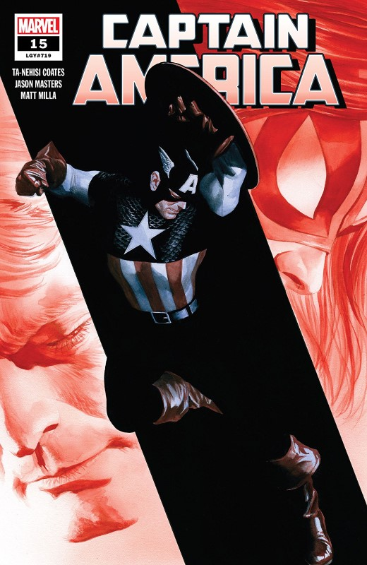 Captain America #15 cover by Alex Ross