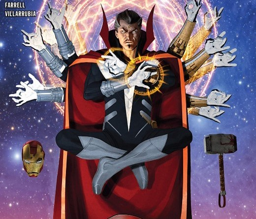 Doctor Strange Annual #1 cover by Ariel Olivetti