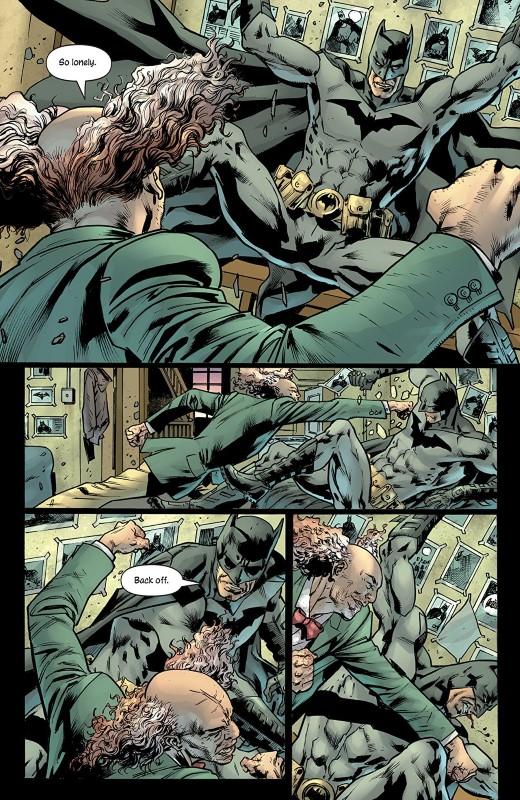 The Batman's Grave #2 art by Bryan Hitch, Alex Sinclair, and letterer Richard Starkings