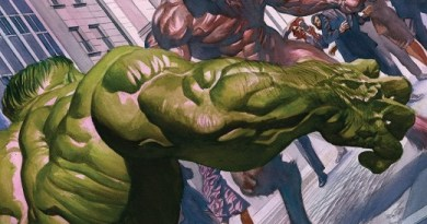 The Immortal Hulk #27 cover by Alex Ross