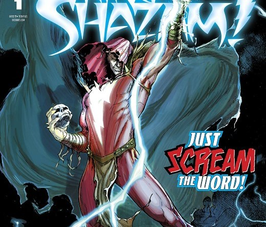 Infected: King Shazam #1 cover by David Marquez and Dean White