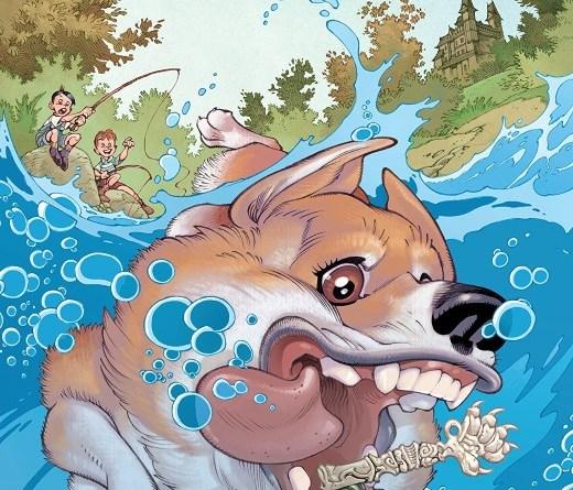 Locke and Key: Dog Days #1 cover by Gabriel Rodriguez