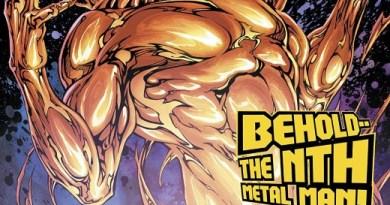 Metal Men #2 cover by Shane Davis, Michelle Delecki, and Jason Wright
