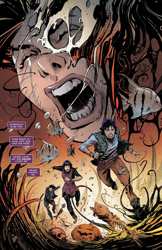 Scream: Curse of Carnage #1 art by Chris Mooneyham, Rain Beredo, and letterer VC's Cory Petit