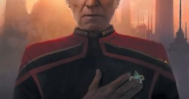 Star Trek: Picard Countdown #1 cover by Michael Pangrazio