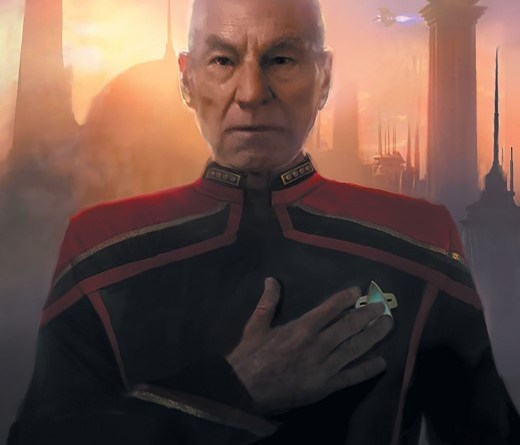 Star Trek: Picard Countdown #1 cover by Michael Pangrazio