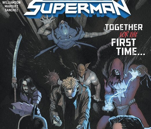 Batman/Superman #6 cover by David Marquez and Alejandro Sanchez
