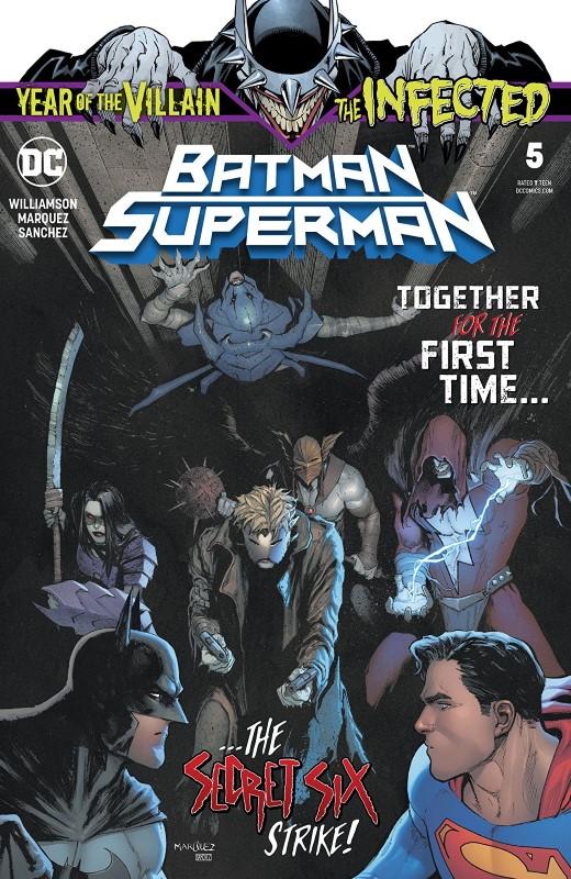 Batman/Superman #5 cover by David Marquez and Alejandro Sanchez