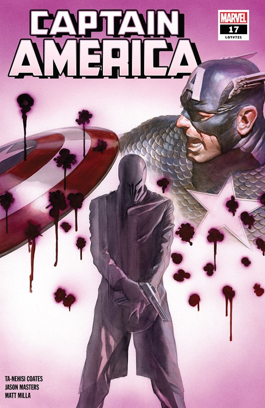 Captain America #17 cover by Alex Ross