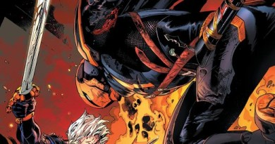 Deathstroke #50 cover by Carlo Pagulayan, Jason Paz, and Jeromy Cox
