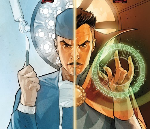 Dr. Strange #1 cover by Phil Noto