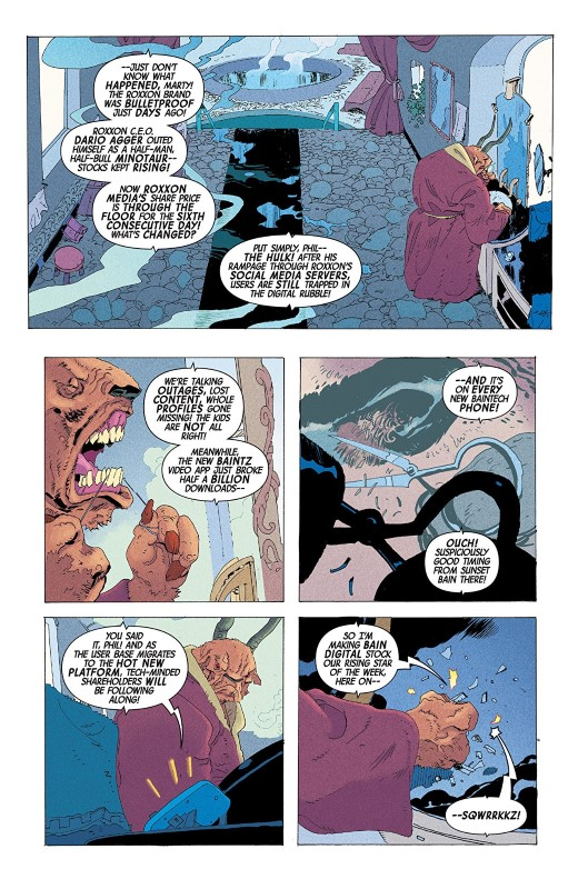 Immortal Hulk #28 art by Tom Reilly, Matías Bergara, Chris O'Halloran, and letterer VC's Cory Petit