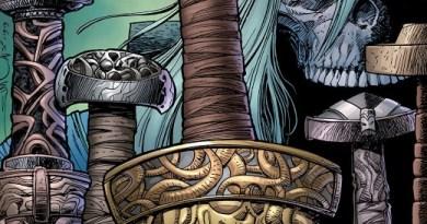 Ragnarok: The Breaking of Helheim #3 cover by Walter Simonson and Laura Martin