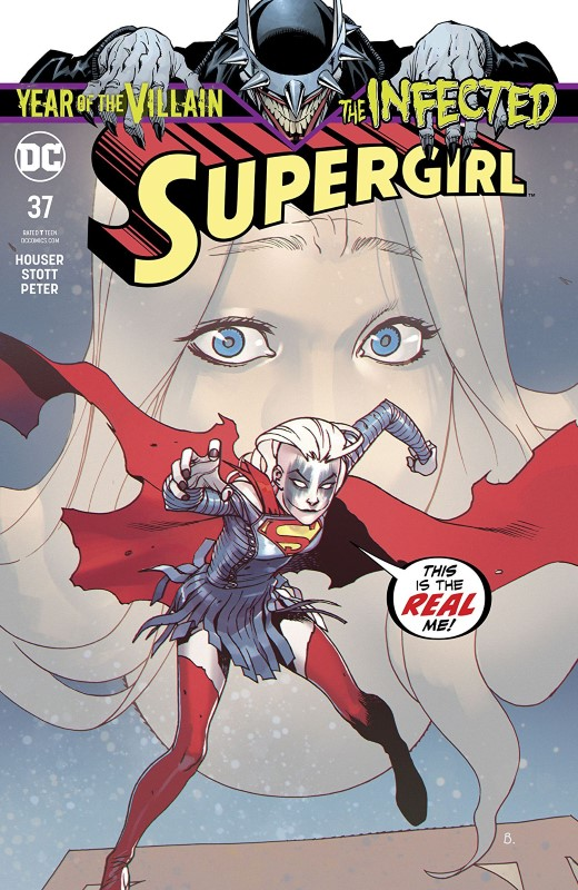 Supergirl #37 cover by Bengal