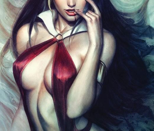 Vampirella #6 cover by Artgerm