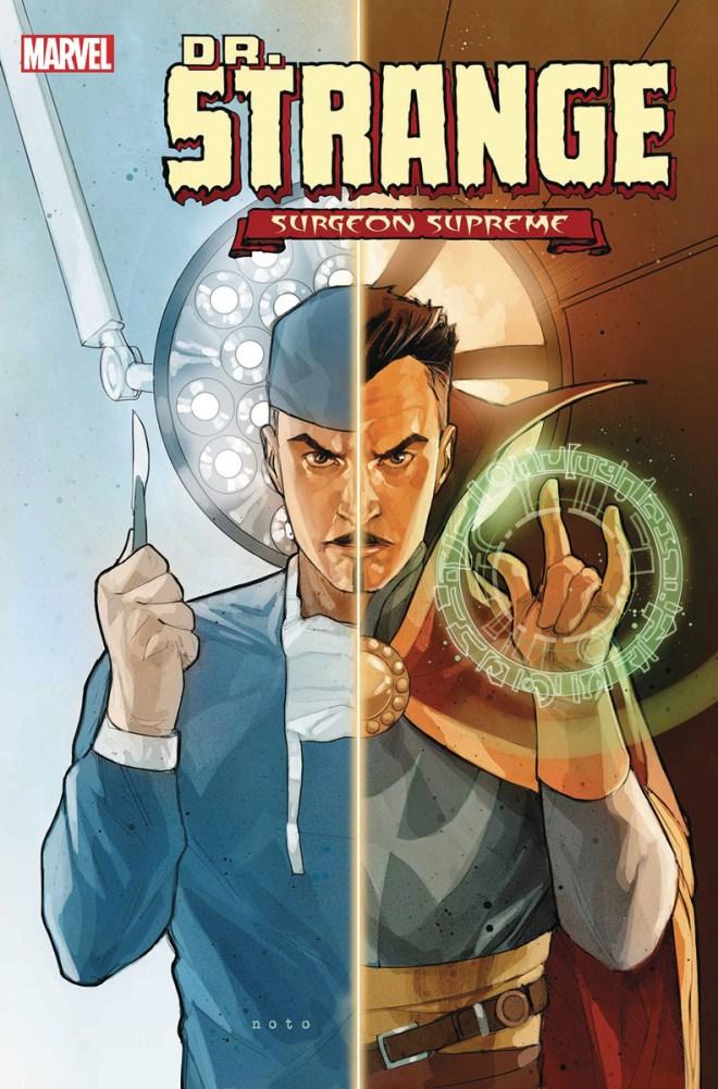 DOCTOR STRANGE SORCERERS SUPREME #1 RODRIGUEZ DESIG 1:15 INCENTIVE VARIANT COVER
